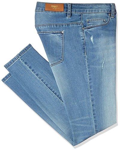ONLY Damen Jeanshose Onlcoral SL SK Dnm Jeans BJ8191-1 Noos, Blau (Medium Blue Denim), W27/L30