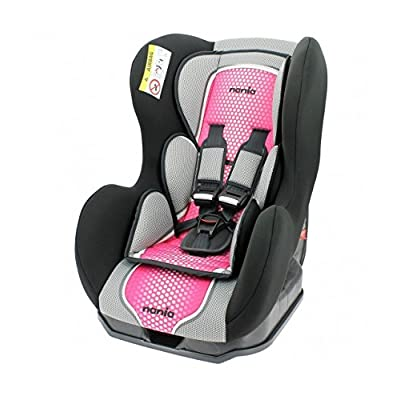 Nania Cosmo Group 0+/1 Infant Car Seat, Pink