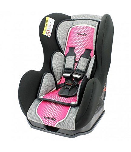 Nania Cosmo Group 0+/1 Infant Car Seat, Pink nania Forward and rear facing car seat Side impact protection Harness sleeves and quick release buckle 1
