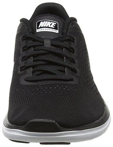 Nike Wmns Flex 2016 RN - Scarpe Running Donna Nero (Black (001 Black))