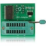 1,8V Adaptateur pour iPhone Carte mère ou 1.8V mémoire flash SPI SOP8DIP8Largeur: 25mx25