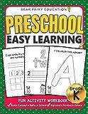 Preschool Easy Learning Activity Workbook, Preschool Workbooks: Preschool Prep, Toddler Learning Book, Alphabet Tracing