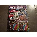 "Monster High ""des jeux 100% Mortels !! + 4 Monsterrings"
