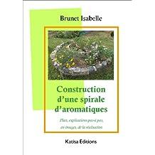 Construction d'une spirale d'aromatiques  : Plan, explications pas-à pas, en images, de la réalisation (French Edition)
