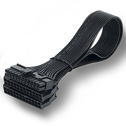 bermunavy Dual PSU Kabel Adapter–24PIN ATX Motherboard Verlängerung-Splitter 24pin Stecker Kabel für Mining Rig Setup