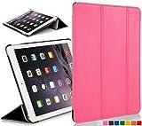 Acquista Custodia in pelle con chiusura magnetica avanguardia casi di funzioni per 20,07 cm Apple iPad mini con display Retina - black_p Rosa rosa  iPad Mini