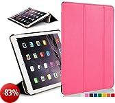 Custodia in pelle con chiusura magnetica avanguardia casi di funzioni per 20,07 cm Apple iPad mini con display Retina - black_p Rosa rosa  iPad Mini