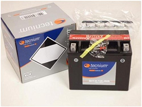 Batteria tecnium Moto Suzuki 650SV 200320042005200620072008YTX12-BS nove