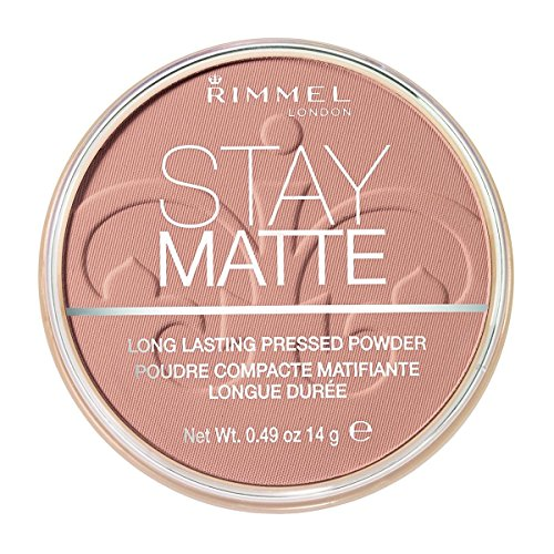 Rimmel London Stay Matte durable Poudre pressée – Naturel