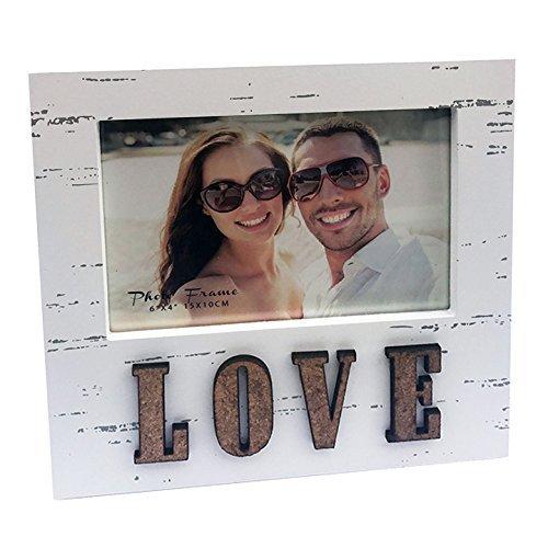 10,2x 15,2cm Bilderrahmen, glas, love, 4 x 6 (Bilderrahmen Glas 4x6)