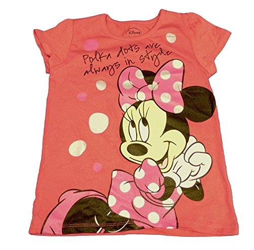 Kleine M?dchen Minnie Maus Kleinkind Kurzarm T-Shirt (2T)