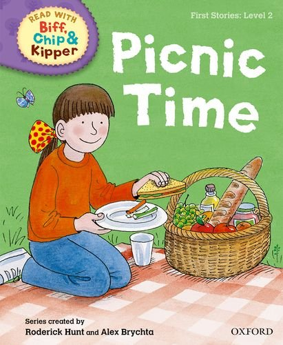 Oxford Reading Tree Read with Biff, Chip and Kipper: First Stories: Level 2: Picnic Time (Biff Chip & Kipper L 2)