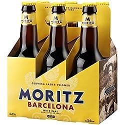 Moritz Cerveza - Paquete de 6 x 330 ml - Total: 1980 ml