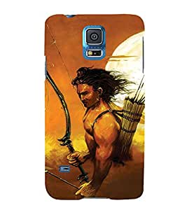 FIOBS War with lord rama Designer Back Case Cover for Samsung Galaxy S5 Neo :: Samsung Galaxy S5 Neo G903F :: Samsung Galaxy S5 Neo G903W