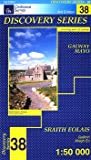 Ordnance Survey Ireland Blatt 38, Galway, Mayo, Ballinrobe, Lough Mask, Irland west topographische Wanderkarte 1:50.000