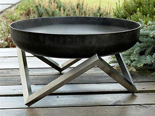 feuerschale 80 Svenskav Design-Feuerschale XXL, 63 x 63 x 36 cm