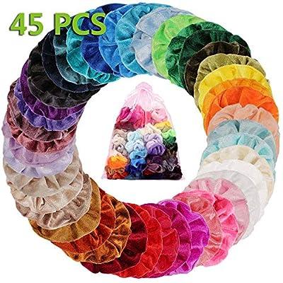 45 Colores Velvet Elástico