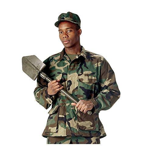 Rothco BDU Shirt, Woodland Camo, X-Small - Woodland Camo Bdu Military Shirt