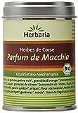 Herbaria Parfum de Macchia Epices Corses pour Viande/Poisson et Légumes Méditerranéen Bio Boîte de 80 g