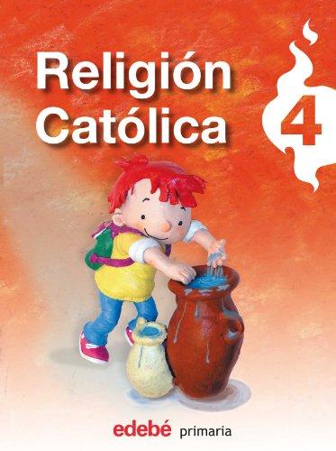 Religión católica, 4 Educación PriMaría - 9788423689101 por Obra Colectiva Edebé
