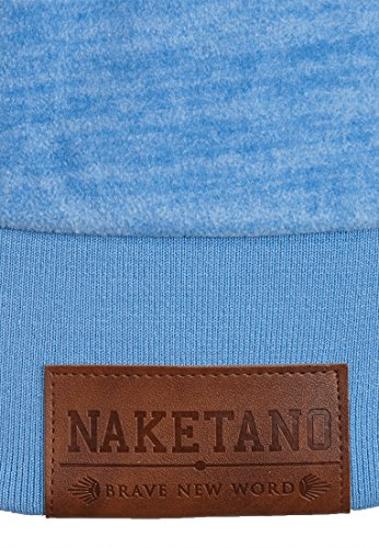 Naketano Male Zipped Jacket Der Gedudelte V Sky Blue Melange
