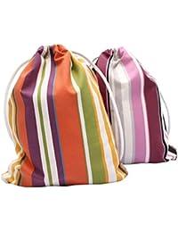 08fc95fbeb42d Gym Bag Turnbeutel Rucksack Sporttasche - aus Marille Webstoff