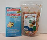 Algenkiller Protect 150 gr. + petitfool Pond Mix 130 gr / 1 L