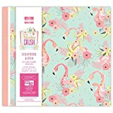 First Edition, Paradise Crush, Blocco di Carta, con Certificazione FSC, Carta, Multi-Colour, 8x8 Scrapbook Albu