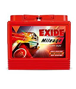 Exide Mileage Car Battery Ah