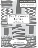 une si longue lettre study guide for french literature by stephen c clem 2000 01 01