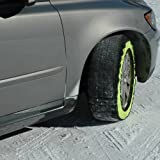 Best Snow Socks - Pair GripSock Car Snow Ice Sock Chains Tyre Review