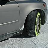 Pair GripSock Car Snow Ice Sock Chains Tyre 205 / 55 R16 Fantastic Grip on Snow