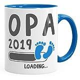 Die besten Opa Kaffeetassen - MoonWorks Kaffee-Tasse Opa 2019 Loading Geschenk-Tasse für werdenden Bewertungen