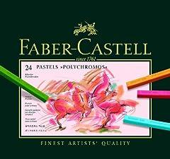 Idea Regalo - Faber-Castell - Gessetti colorati, 24 pz.