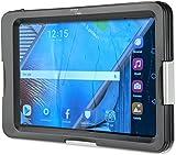 4smarts 467275 Active Pro Seashell Wasserfeste Tasche für Tablet, 17,78-20,32 cm (7-8 Zoll) schwarz