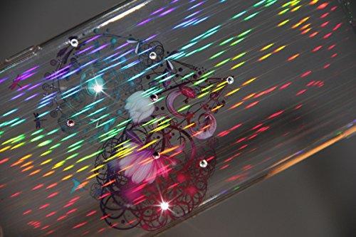 Etche Housse Etui pour iPhone 6 Plus/6S Plus 5.5 pouces,Soft Silicone TPU Coque Cover pour iPhone 6 Plus/6S Plus 5.5 pouces,Etui de Protection Cas en caoutchouc en Ultra Slim Souple Clair Gel Bumper L coeur fleurs