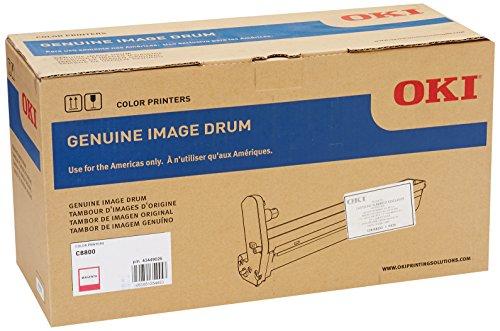 OKI Drum (C8800) 20.000Seiten Magenta Drum Drucker-Trommeln Druckertisch (20.000Seiten, Magenta) -