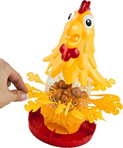 HUKITECH Chicken Drop - Geschicklichkeitsspiel mit hohem Spaßfaktor wie Kroko Doc (Spider Man Kostüm Ps3)