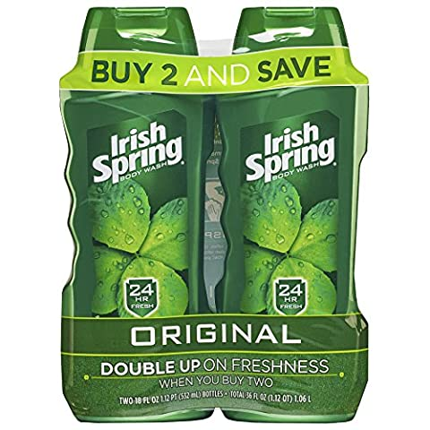 Irish Spring Body Wash, Original, 2 Count by Irish Spring