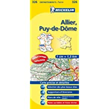 Carte DPARTEMENTS Allier, Puy-de-Dme