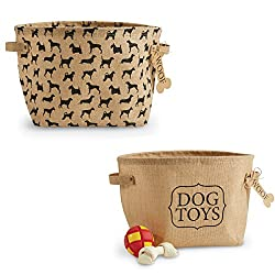 Mud Pie Dog Toy Baskets (Set of 2)