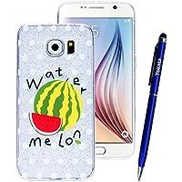 Yokata Samsung Galaxy S6 Hülle Transparent Glitzer Weiche Silikon Handyhülle Schutzhülle TPU Handy Tasche Schale... preisvergleich bei billige-tabletten.eu