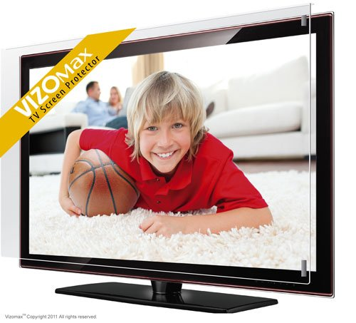 49 - 50-Zoll-Vizomax TV-Bildschirm-Schutz für LCD, LED und Plasma-HDTV. UV-Schutz, Fernseher-Displayschutz Protector Lcd-led-hdtv