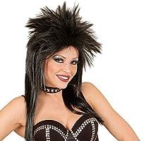 Amazon.it  Rockstar - Parrucche e parrucchini per adulti   Parrucche e ... 8872bd1ade0b