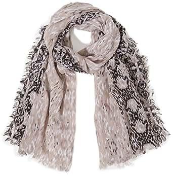 Kaffe Damen Tuch Kenna scarf, Einfarbig, Gr. One size, Schwarz (Black deep 600)