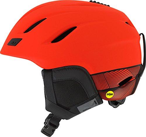 Giro Snowboard-helm Rot (Giro Nine MIPS Ski, Snowboard Helmet EPS), Polycarbonat Schwarz, Rot, Schutz–Schutz-Helme, Ski, Snowboard, Schwarz, Rot, EPS), Polycarbonat, M, matt, 55,5–59cm))