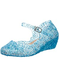 Sandrocks Girls Jelly chiuso scarpe sandali, Blu (blu), 30 EU
