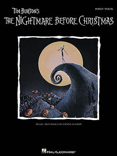 HAL LEONARD ELFMAN DANNY - TIM BURTON'S NIGHTMARE BEFORE CHRISTMAS - PIANO/VOCAL - PVG Noten Pop, Rock, .... Filmmusik - Musicals
