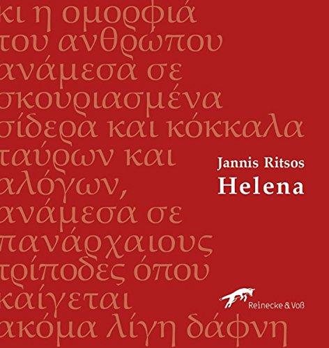 Helena: Gedichte, Griechisch - Deutsch (edition metáfrasi / Neugriechische Poesie in deutscher Übersetzung)
