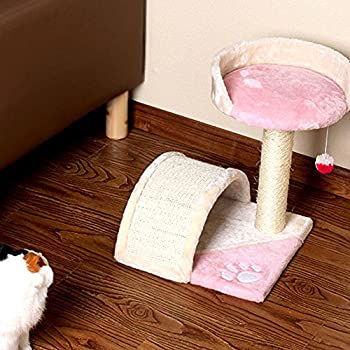 Myyxt Support d'escalade de chat Arbre Colonne de sisal Griffe de meulage Plate-forme Animal Jouets Conseil de Grab , C
